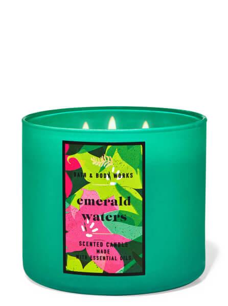 3-Docht Kerze - Emerald Waters - 411g