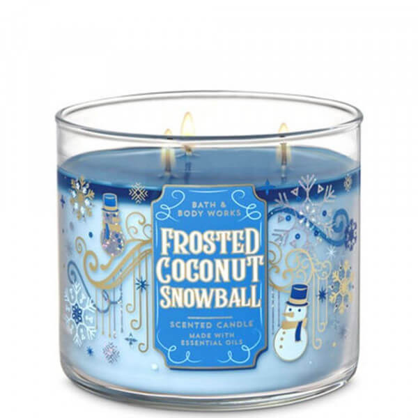 Frosted Coconut Snowball 411g von Bath and Body Works