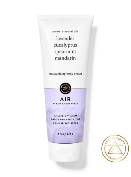 Body Cream - Aromatherapy - AIR - Lavender - Eucalyptus - 226g
