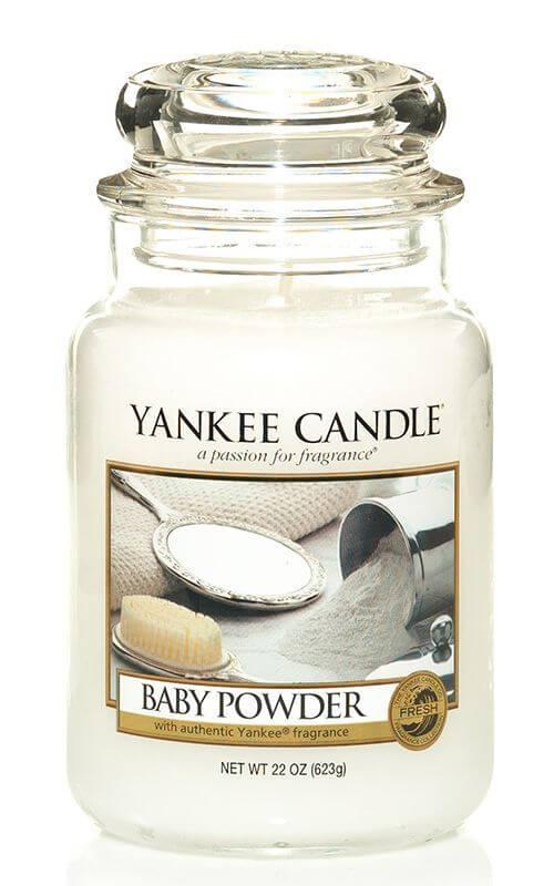 baby powder 623g von yankee candle online bestellen candle dream. Black Bedroom Furniture Sets. Home Design Ideas