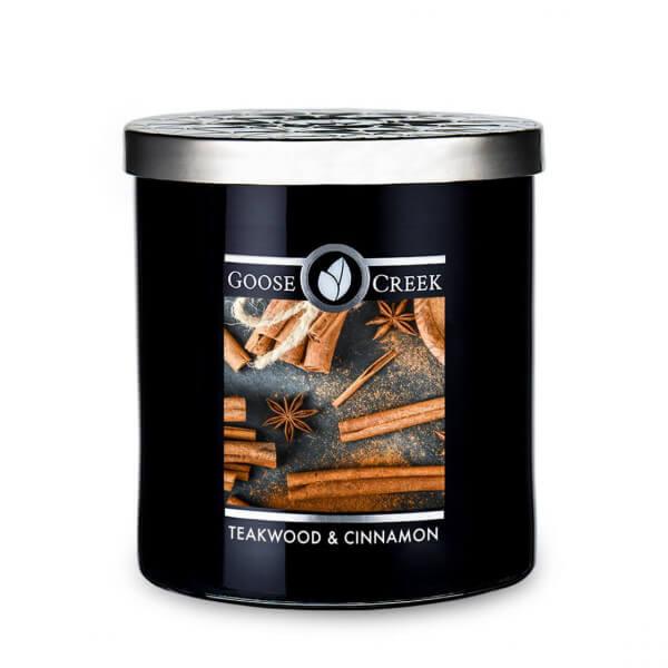 Teakwood & Cinnamon 453g (Tumbler)
