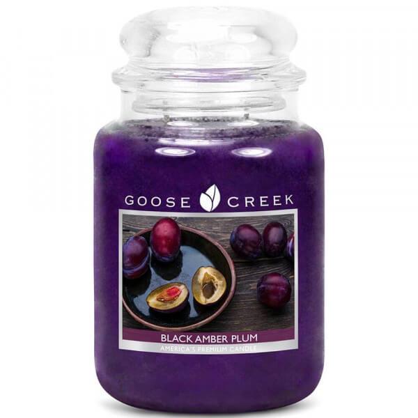 Goose Creek Candle Black Amber Plum 680g