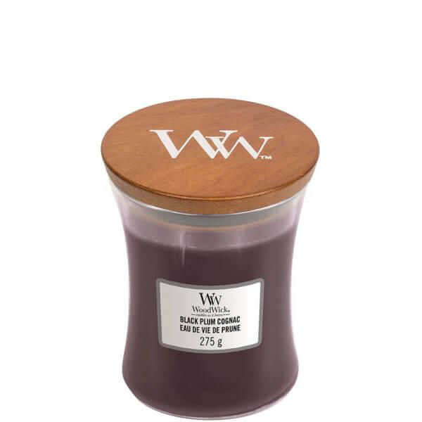 Black Plum Cognac 275g von Woodwick