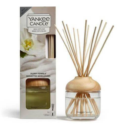 New Reed Diffuser Fluffy Towels von Yankee Candle