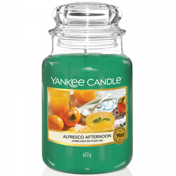 Alfresco Afternoon 623g großes Glas von Yankee Candle