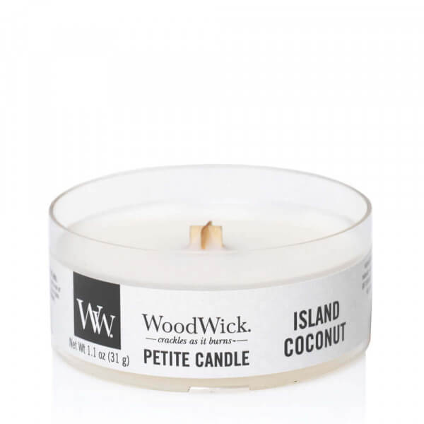 Island Coconut Petite Candle 31g von Woodwick