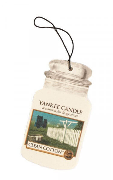 Yankee Candle - Car Jar Clean Cotton