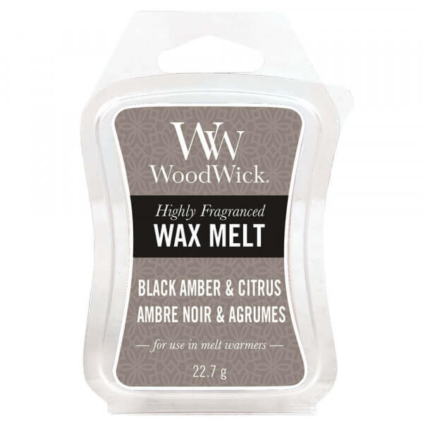 Black Amber & Citrus Wax Melt 22,7g von Woodwick