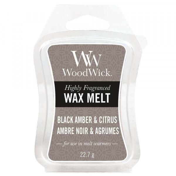 Black Amber & Citrus Wax Melt 22,7g von Woodwick