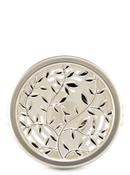 Auto-Lufterfrischer Lüftungsclip - Silber Blätter