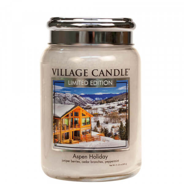 Aspen Holiday 626g von Village Candle