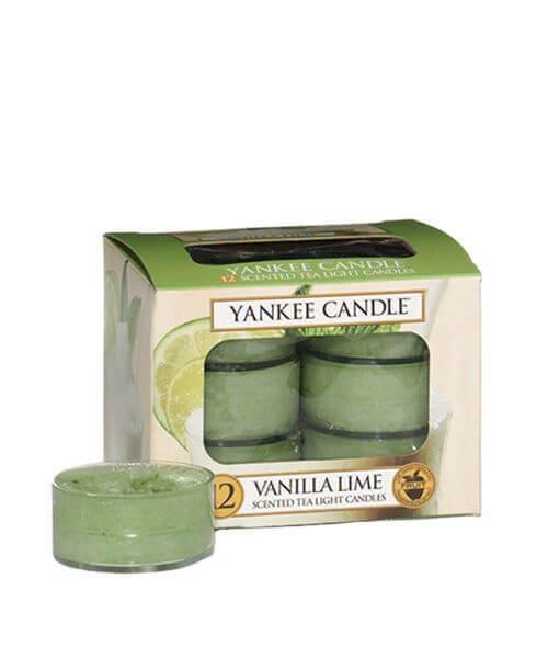 Yankee Candle Teelichte Vanilla Lime