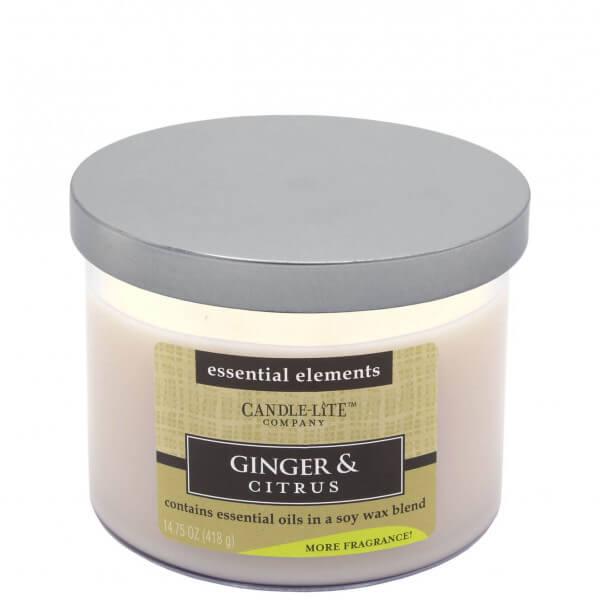 Ginger & Citrus 418g von Candle Lite