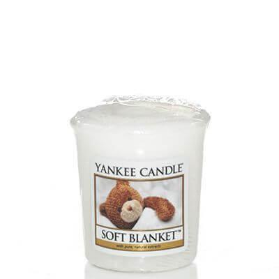 Yankee Candle Votivkerze-Sampler Soft Blanket 49g