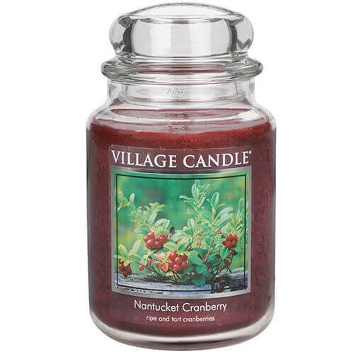 Village Candle Nantucket Cranberry 645g