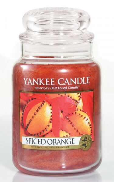 Yankee Candle Spiced Orange 623g