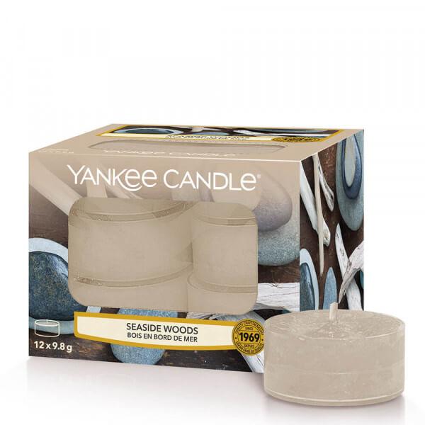 Seaside Woods 12 Teelichter von Yankee Candle