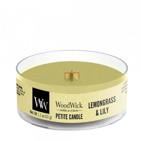 Lemongrass & Lily Petite Candle 31g von Woodwick