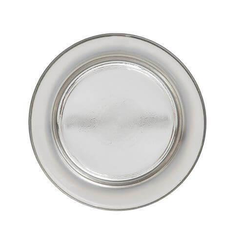Yankee Candle - Platinum Fade Kerzenteller klein