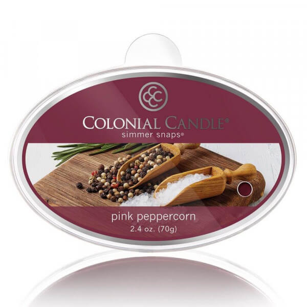 Colonial Candle - Pink Peppercorn Simmer Snap 70g