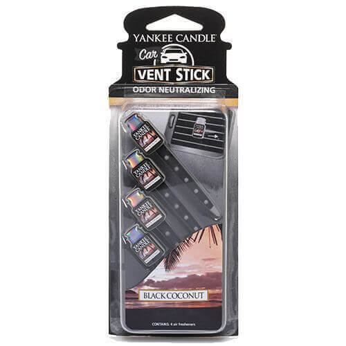 Yankee Candle Black Coconut Vent Sticks