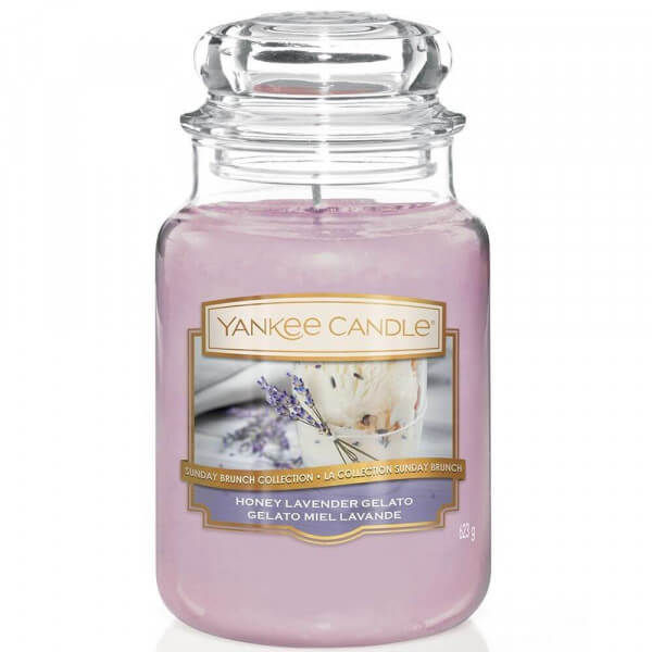 Honey Lavender Gelato 623g von Yankee Candle