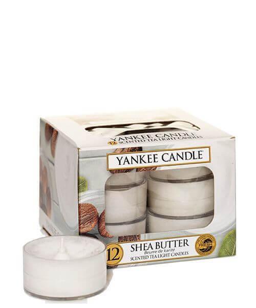Yankee Candle Teelichte Shea Butter 12St