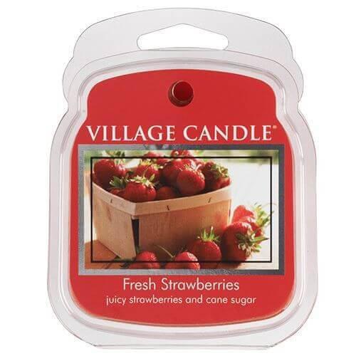 Village Candle Fresh Strawberries 62g