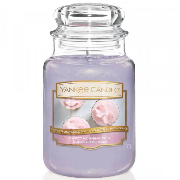 Sweet Morning Rose 623g von Yankee Candle