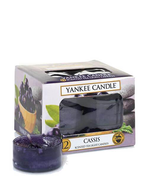 Yankee Candle Cassis Teelichte 12St
