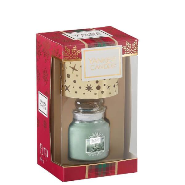Geschenkset 1 kleines Jar & Schirm von Yankee Candle