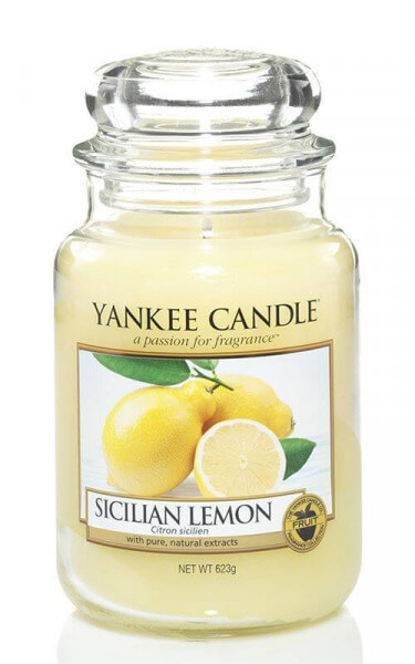Yankee Candle Sicilian Lemon 623g