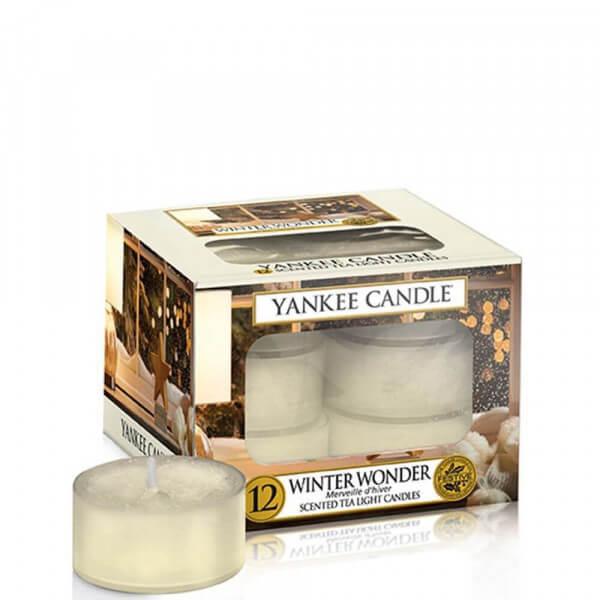 Winter Wonder 12 St. Teelichter Kerzen von Yankee Candle