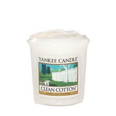 Yankee Candle Sampler - Votivkerze Clean Cotton