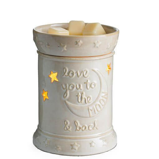 Love You To The Moon Duftlampe von Candle Warmers Deutschland