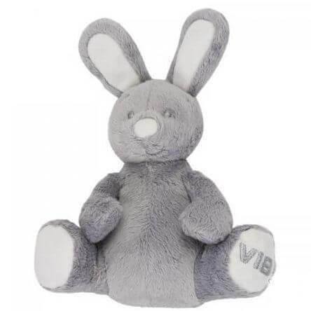 Rabbit Sitzend Grau