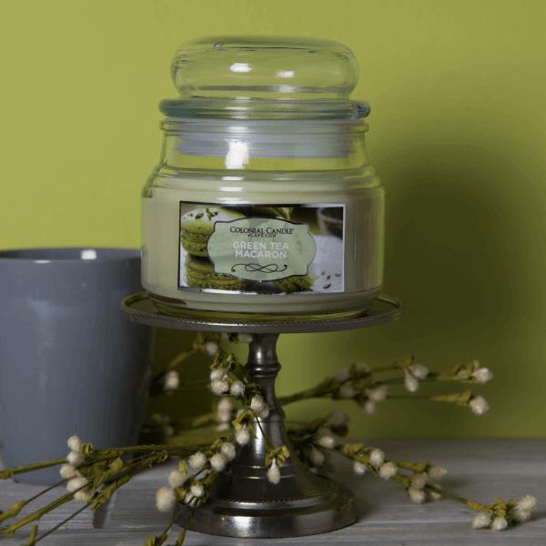 Duftkerze Green Tea Macaron Terrace - 255g