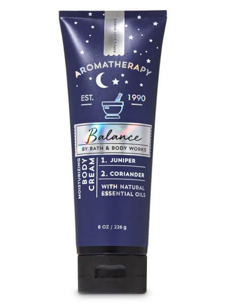 Body Cream - Aromatherapy - Balance - Juniper Coriander - 226g